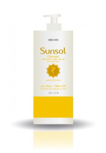 Champú reparador solar sin sal Sunsol