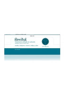 Ampollas Tratamiento anticaida Revital 12 unidades