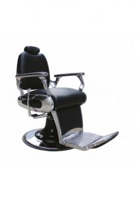 Sillon barbero negro Vesubio bomba hidraulica Eseuve